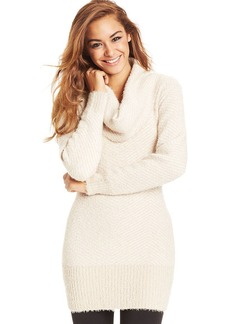 XOXO Juniors' Eyelash-Knit Tunic Sweater