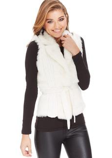 XOXO Juniors' Faux-Fur Sweater Vest