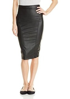 XOXO Juniors Faux Leather Pencil Skirt