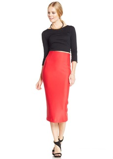 XOXO Juniors' Midi Pencil Skirt