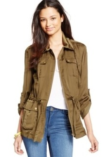 Xoxo Juniors' Military Cargo Jacket