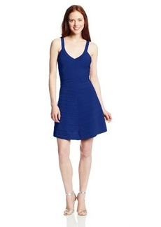 XOXO Juniors Ottoman Fit-and-Flare Dress