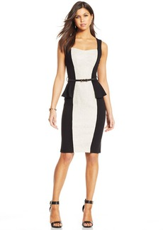 XOXO Juniors' Peplum Sheath Dress