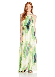 XOXO Junior's Printed Tie Dye Maxi Dress