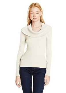 XOXO Juniors Rib Cowl Neck Pullover Sweater