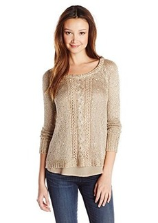 XOXO Juniors Sequin Yarn Pullover Sweater
