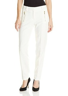 XOXO Juniors Skinny Pant with Faux-Leather Side