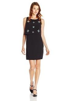 XOXO Juniors Sleeveless Popover Dress with Embellished Bodice