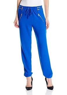 XOXO Juniors Soft Pant with Zipper Detail