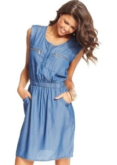 Xoxo Juniors' Solid Shirtdress