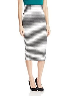 XOXO Juniors Stripe Pencil Skirt