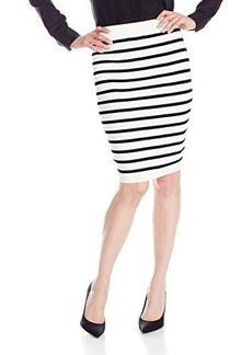 XOXO Junior's Stripe Pencil Skirt