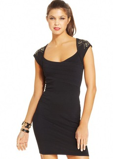 XOXO Juniors' Studded Bodycon Dress