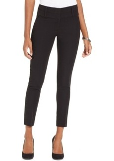Xoxo Juniors' Tab-Front Skinny Ankle Pants