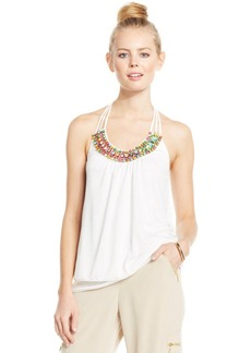 XOXO Juniors' Tiered Applique Top