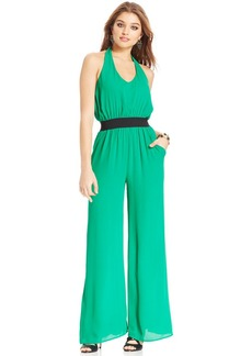 XOXO Juniors' Wide-Leg Jumpsuit