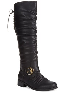 XOXO Marcher Tall Boots