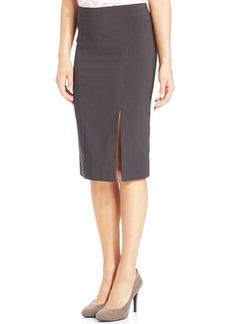 XOXO Pinstriped Pencil Skirt