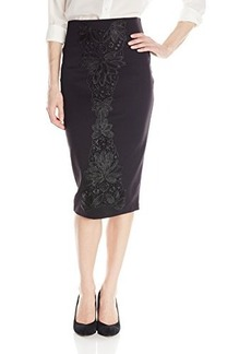 XOXO Women's 26 Super Slim Pencil Skirt