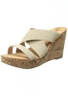 XOXO Women's Belicia Wedge Sandal