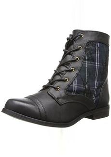 XOXO Women's Brandice Combat Boot