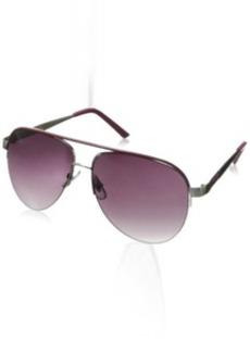 XOXO Women's Director Iridium Aviator Sunglasses