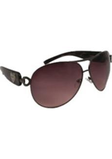 XOXO Women's Promise Iridium Aviator Sunglasses