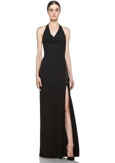 Yigal Azrouel Jersey Cutout Maxi Dress