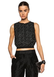 Yigal Azrouel Paisley Lace Top