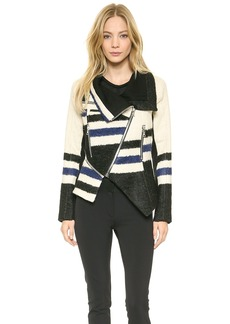 Yigal Azrouel Elongated Stripe Jacket