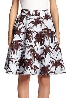 Yigal Azrouel Hawaiian Jacquard Skirt