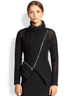 Yigal Azrouel Linear Tulle Jacket