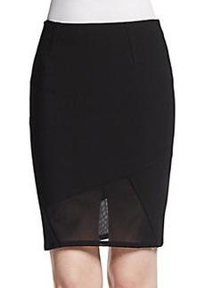 Yigal Azrouel Mechanical Combo Skirt