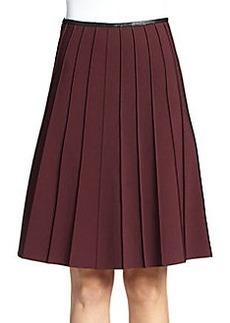 Yigal Azrouel Mechanical Pintuck Skirt