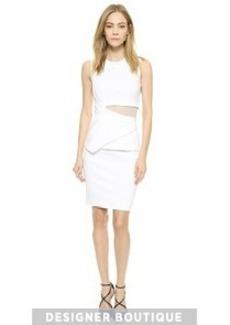 Yigal Azrouel Mock Crop Top Dress