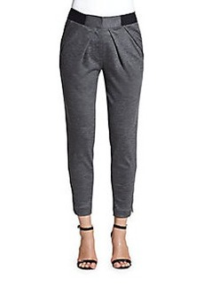 Yigal Azrouel Pleated Jersey Trousers