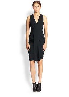 Yigal Azrouel Ruched-Detail Jersey Dress