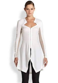 Yigal Azrouel Sheer-Insert Starr Top
