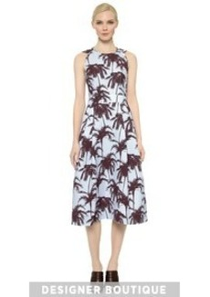 Yigal Azrouel Sleeveless Hawaiian Dress