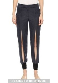 Yigal Azrouel Slit Front Pants