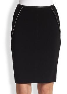 Yigal Azrouel Zipper-Detail Pencil Skirt