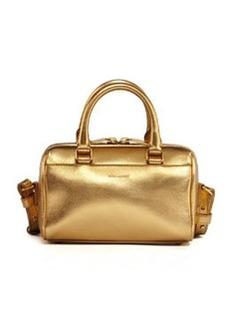Metallic Duffel Toy Saint Laurent Bag, Golden   Metallic Duffel Toy Saint Laurent Bag, Golden