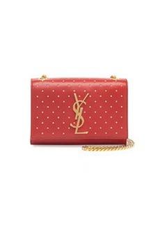 Monogramme Studded Crossbody Bag, Red   Monogramme Studded Crossbody Bag, Red