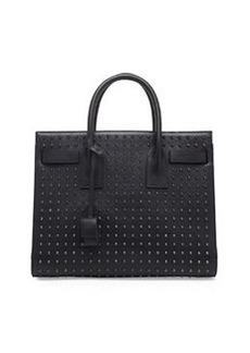 Sac de Jour Small Studded Carryall Bag, Black   Sac de Jour Small Studded Carryall Bag, Black