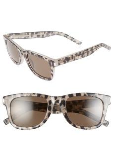 Saint Laurent 50mm Retro Sunglasses