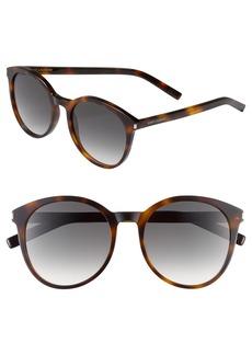 Saint Laurent 54mm Retro Sunglasses