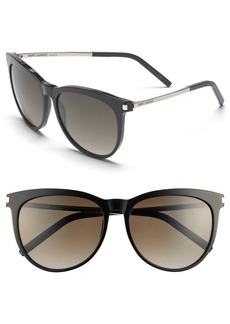 Saint Laurent 57mm Retro Sunglasses