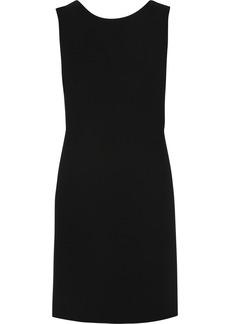 Saint Laurent Backless silk mini dress