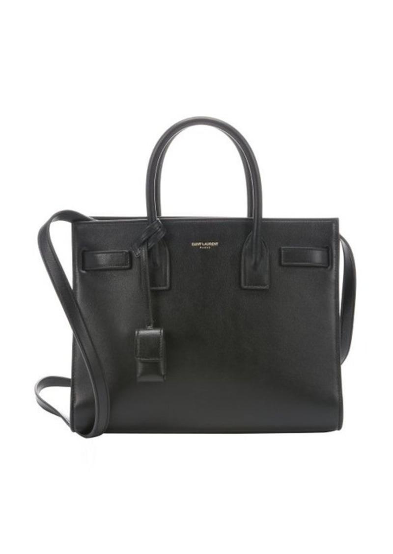 Yves Saint Laurent Saint Laurent Black Leather Baby Sac