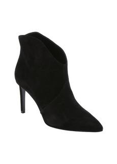 Saint Laurent black suede 'Paris 80' stiletto ankle booties